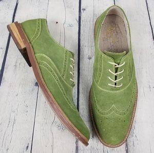 ORIGINAL PENGUIN | Brogue suede oxford shoes